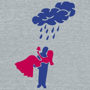 wet happy marriage T-Shirts - Unisex Tri-Blend T-Shirt by American Apparel
