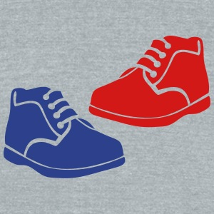 baby shoe 1 T-Shirts - Unisex Tri-Blend T-Shirt by American Apparel