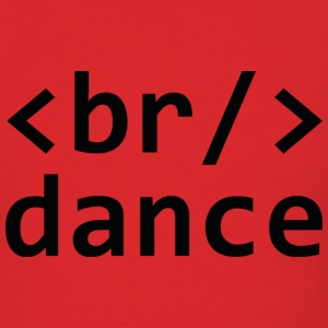 Breakdance Code - Men's T-Shirt