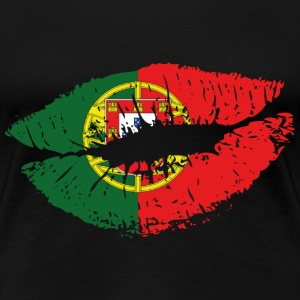 Mouth Portugal Women's T-Shirts - Women's Premium T-Shirt
