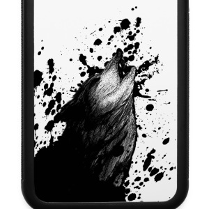 Wolf Sketch - iPhone 6/6s Rubber Case