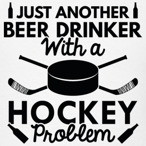 Beer Drinker Hockey - Men's T-Shirt