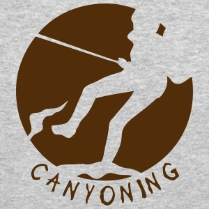 canyoning reminder rope 4 logo Long Sleeve Shirts - Crewneck Sweatshirt