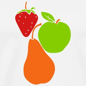 pear strawberry apple T-Shirts - Men's Premium T-Shirt