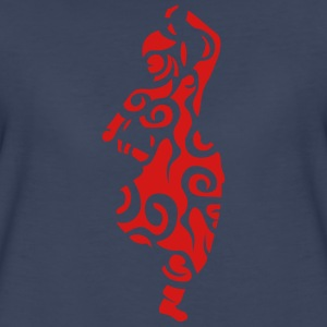 indian dance 9 Women's T-Shirts - Women's Premium T-Shirt