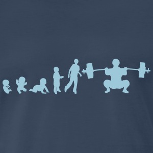 evolution weightlifting T-Shirts - Men's Premium T-Shirt