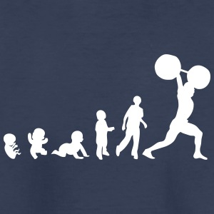 evolution weightlifting 0 Kids' Shirts - Kids' Premium T-Shirt