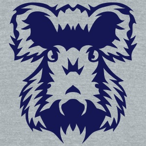 boar head ferocious animals 12096 T-Shirts - Unisex Tri-Blend T-Shirt by American Apparel