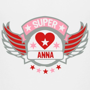 anna super buffer wing logo heart love  Kids' Shirts - Kids' Premium T-Shirt