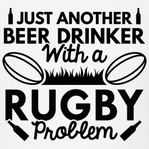 Beer Drinker Rugby - Men's T-Shirt