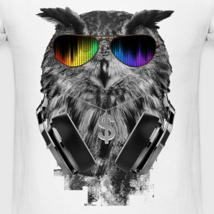 OWL DJ PARTY - Men's T-Shirt