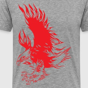 Eagle tattoo design T-Shirts - Men's Premium T-Shirt