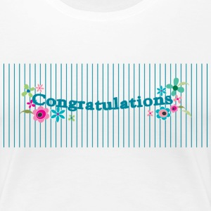 Congratulations - Women's Premium T-Shirt