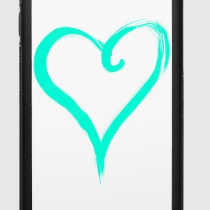 Big Heart Phone & Tablet Cases - iPhone 6/6s Rubber Case