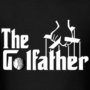 The Golfather - Men's T-Shirt