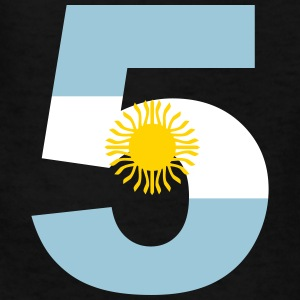 Argentinia Numbers, 5, Jersey Numbers Argentinia Kids' Shirts - Kids' T-Shirt