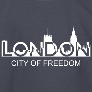 London silhouette Kids' Shirts - Kids' Long Sleeve T-Shirt