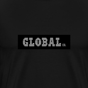 Global Co | T-Shirt (Black) - Men's Premium T-Shirt