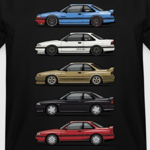Stack of Mazda MX6 GTs T-Shirts - Men's Tall T-Shirt