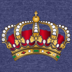 Crown T-Shirts - Unisex Tri-Blend T-Shirt by American Apparel