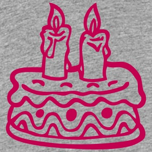 cake birthday candle 2 Kids' Shirts - Kids' Premium T-Shirt