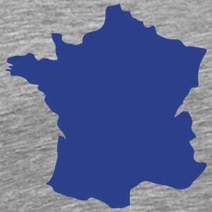 france map 12 T-Shirts - Men's Premium T-Shirt