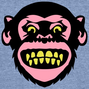 monkey grimace 8 T-Shirts - Unisex Tri-Blend T-Shirt by American Apparel