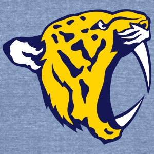 roaring tiger profile 9 T-Shirts - Unisex Tri-Blend T-Shirt by American Apparel