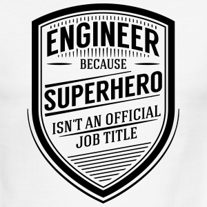 Engineer - Superhero T-Shirts - Men's Ringer T-Shirt