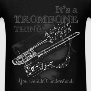Music - Trombone - Men's T-Shirt