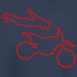 motorcycle freestyle moto cross track_7 Kids' Shirts - Kids' Premium T-Shirt