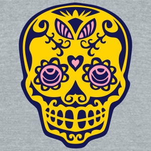 mexican death head skull dead mexic T-Shirts - Unisex Tri-Blend T-Shirt by American Apparel