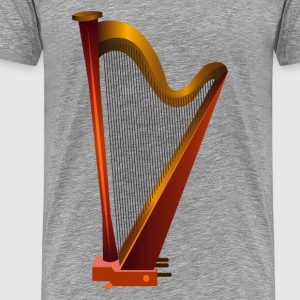 Musical instrument harp T-Shirts - Men's Premium T-Shirt