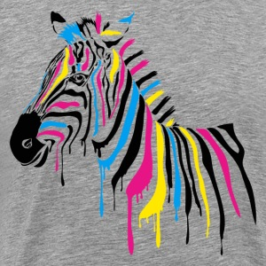 Colorful horse art T-Shirts - Men's Premium T-Shirt