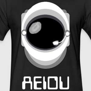 AEIOU T-Shirts - Fitted Cotton/Poly T-Shirt by Next Level