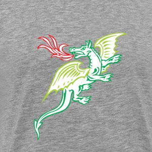 Dragon clip art T-Shirts - Men's Premium T-Shirt