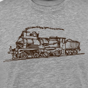 Ancient hand drawn transport vehicle T-Shirts - Men's Premium T-Shirt