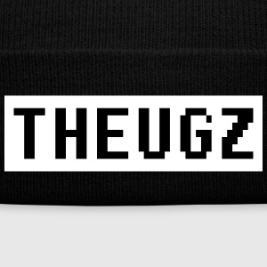 THEUGZ Box Logo Sportswear - Knit Cap with Cuff Print