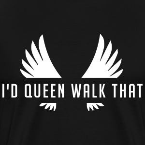 Clash of Clans Queen Walk  - Men's Premium T-Shirt
