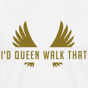 Clash of Clans Queen Walk Gold - Men's Premium T-Shirt