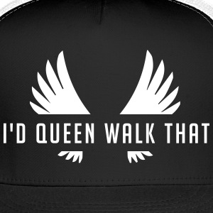 Clash of Clans Queen Walk - White - Trucker Cap