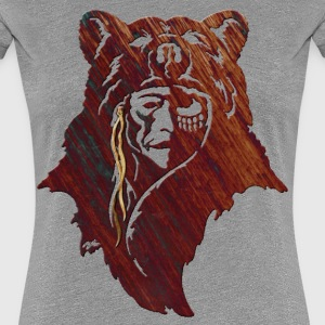 Bear Native - Women's Premium T-Shirt