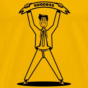 successful career winner T-Shirts - Men's Premium T-Shirt
