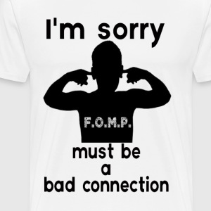 bad connection T-Shirts - Men's Premium T-Shirt