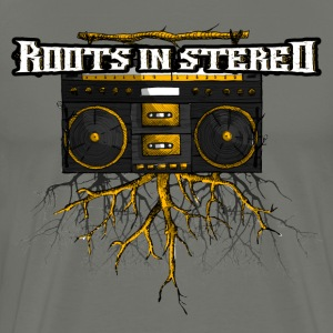 ROOTS IN STEREO - Men's Premium T-Shirt