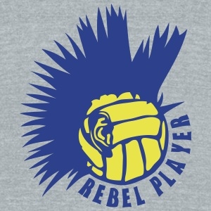water polo volleyball ear punk rebel T-Shirts - Unisex Tri-Blend T-Shirt by American Apparel