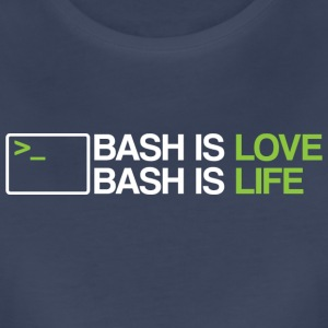 Bash is love - Women's Premium T-Shirt