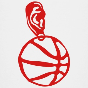 basketball ball earring Kids' Shirts - Kids' Premium T-Shirt