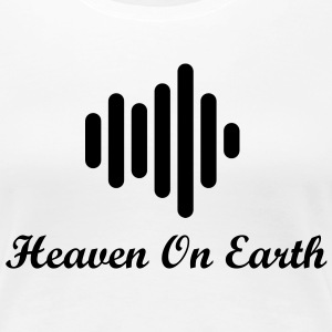 Heaven On Earth Soundwave Womens T-shirt - Women's Premium T-Shirt