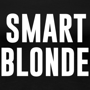 smart blonde Women's T-Shirts - Women's Premium T-Shirt